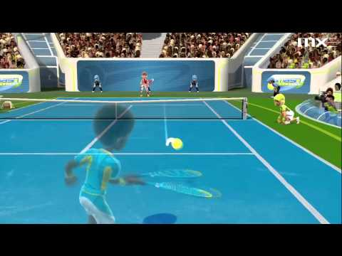Kinect Sports Season 2 Demo: Tennis Gameplay HD