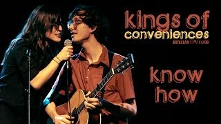 Watch Kings Of Convenience Know How video
