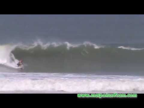 Surfing in Central America, www.malpaisurfcam.com 04-13-13, Santa Teresa Mal Pais Costa Rica