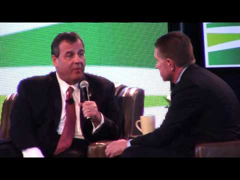 New Jersey Gov. Chris Christie at Iowa Ag Summit 3-7-15