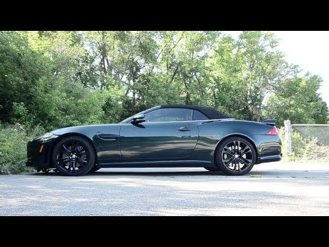2012 Jaguar XKR-S Convertible - WINDING ROAD POV Test Drive
