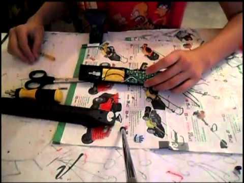 Schema elettrico racchetta zanzare - Fare di Una Mosca