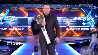WWE Smackdown 8/30/2016 Highlights - WWE Smackdown 30 August 2016 Highlights