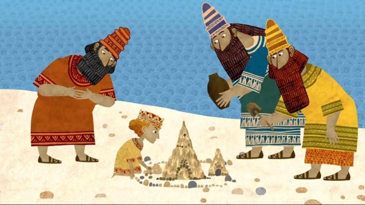Сказки - Мультики для детей | Гора самоцветов - Две недлинных сказки. Еврейская сказка