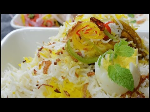Chooza Biryani - Aromatic Basmati Rice with Spring Chicken- By Vahchef @ vahrehvah.com