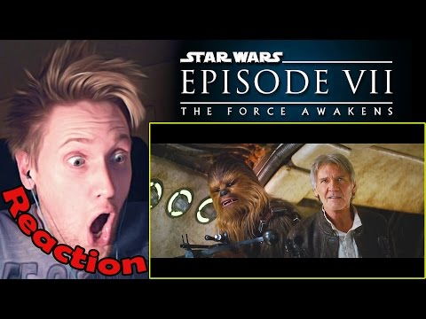 Star Wars: Episode VII - The Force Awakens Official Teaser Trailer #2 REACTION! | NERD-GASM!!! |