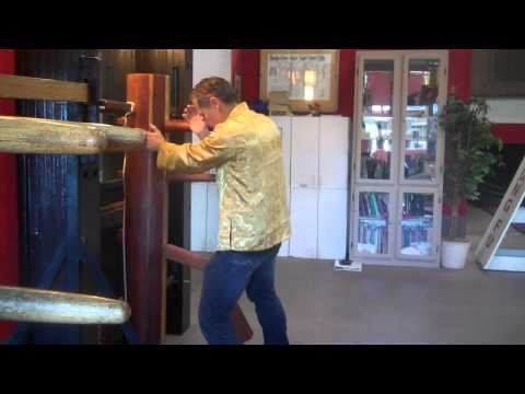 Secrets of Ip Man Wing Chun Wooden Dummy Mook Yan Jong First Section Slow Version Image 1