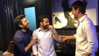 Jr NTR Birthday Celebrations with Super Star Mahesh Babu and Ram Charan | Filmylooks