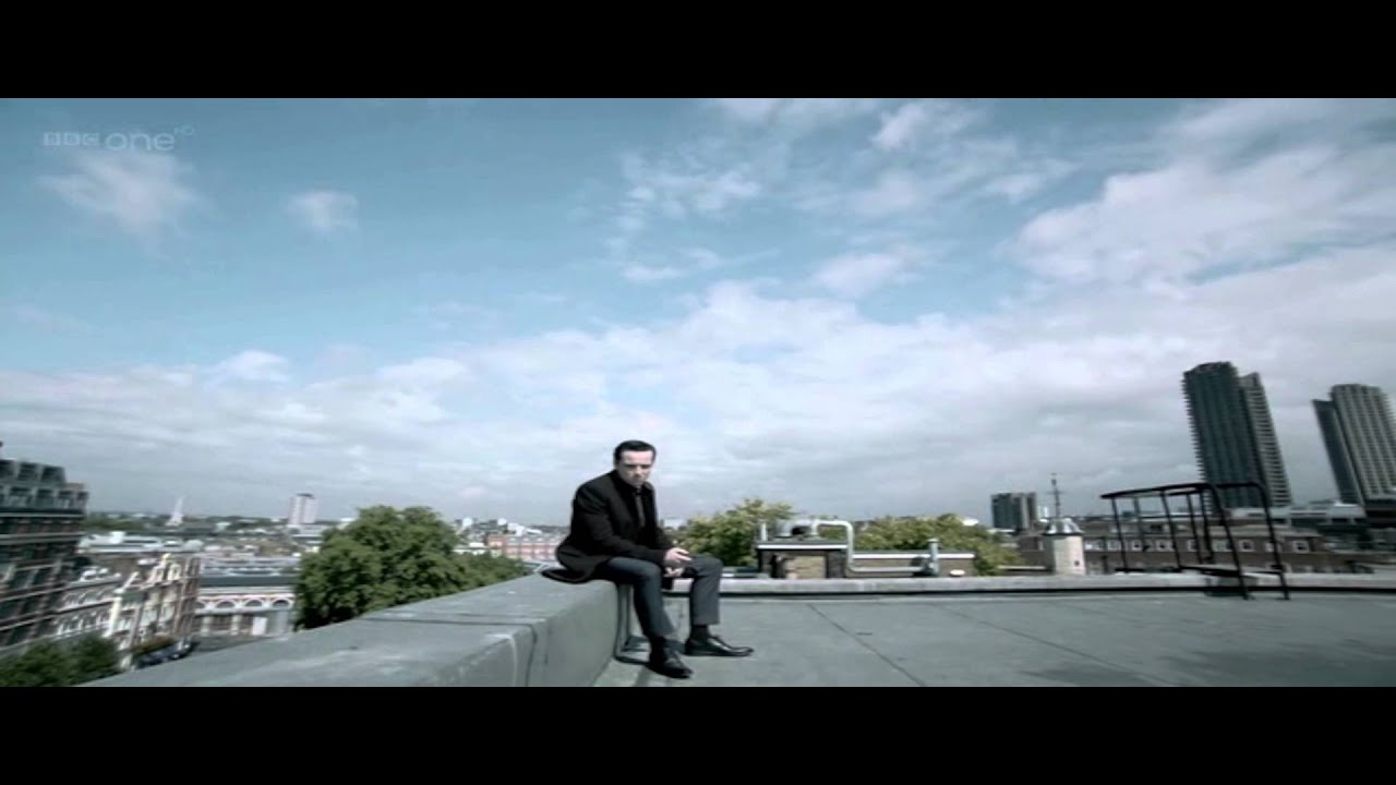 Moriarty Stayin Alive Rooftop Scene Sherlock Bbc Youtube