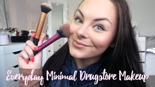Everyday Minimal Drugstore Makeup ♡ For School, Work & Beginners!