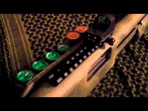 Mossberg 500 Tactical Home Defense Shotgun w/ATACS Pt. 2