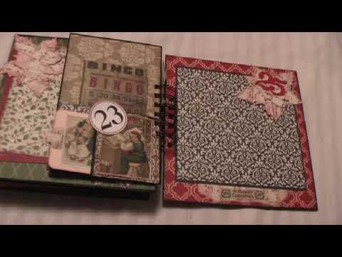 December Daily Paperbag Mini Album
