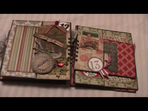December Daily Paperbag Mini Album