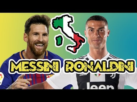 If MESSI and RONALDO were from YOUR Country | What would they be called?
