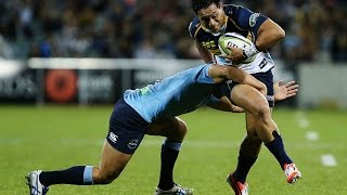Brumbies v Waratahs Rd. 12 2015 Highlights | Super Rugby Highlights