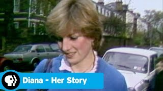 DIANA - HER STORY | Young Diana Meets Charles | PBS