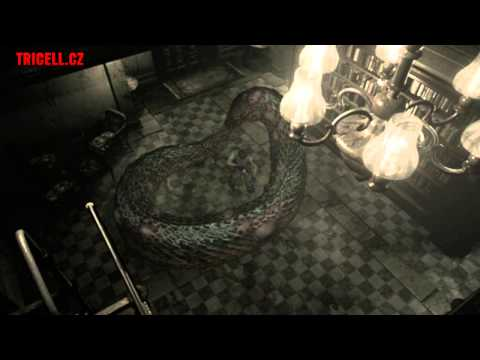 Resident Evil: remake - Yawn giant snake battle