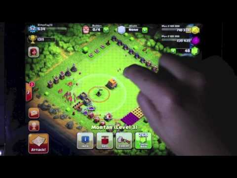 Clash of Clans - Defence Strategy Part 1