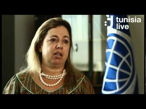 Eileen Murry presents the World Bank's Interim strategy Note for Tunisia