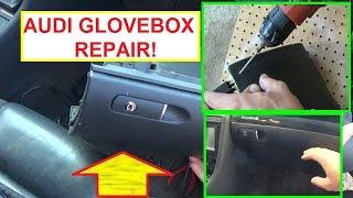 Audi A4 A3 A6 Glovebox Repair. Audi Glove compartment REPAIR FIX