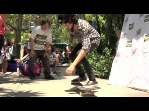 James Wolf learning how to kickflip in 5 tries from Dan MacFarlane of Skateboarding Explained