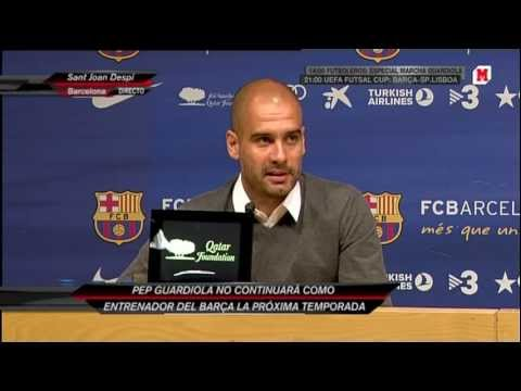 Despedida de Guardiola