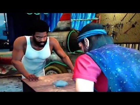 GTA 5 - Collected all UFO parts - Cut Scene and Car