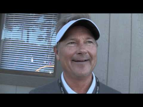 John Cook is defending his Champions Tour win at Harding...and sharing his ...