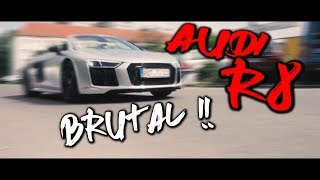 AUDI R8 in PLATIN CHROM MATT ! Normal war gestern | Folienprinz