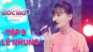 Hát mãi ước mơ 2   tập 9: Võ Minh Lâm rơi nước mắt trước giọng ca da diết của cô gái khiếm thị từ bé