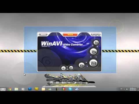 COMO DESCARGAR WinAVI Video Converter (HD)
