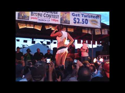 White Eagle 3/17/12 Thunder Road Magazine / Twisted Tea Bikini Contest