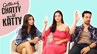 Cast of SOTY2 Reveals Their School Secrets | Getting Chatty with Katty | Student of The Years 2