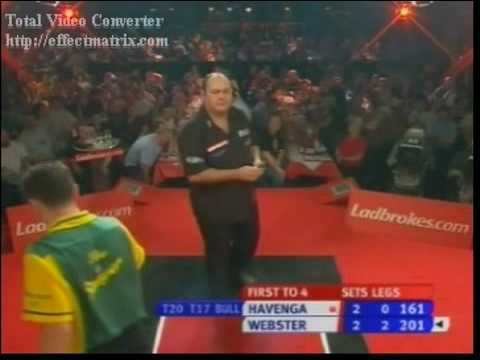 Wynand Havenga vs. Darren Webster - 2007 PDC World Championships