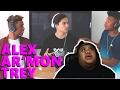 Alex Aiono Ft. Ar'mon & Trey - Mash Up [MUSIC REACTION]