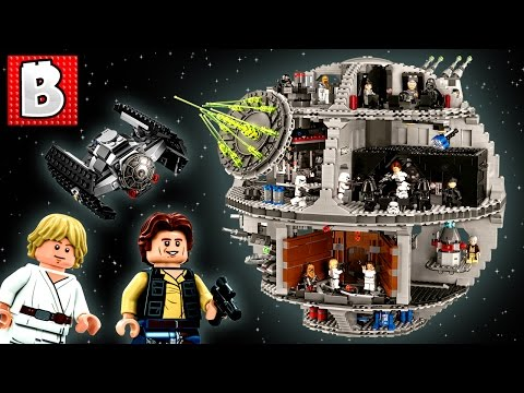 Lego Star Wars Death Star UCS Set 75159   Unbox Build Time Lapse Review