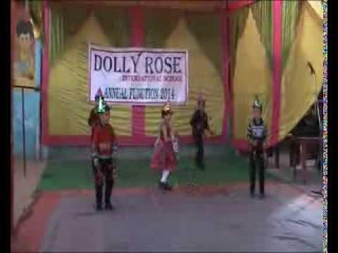 Lakdi ki Kathi-Jia and party (Dolly Rose International School...