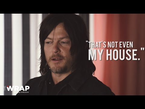 'the Walking Dead's' Norman Reedus Talks House Sale: 'that's Not Even My House' video