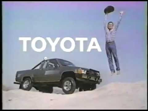 VINTAGE 80'S OH WHAT A FEELING TOYOTA COMMERCIAL #2 W UPSIDE DOWN CARS ...