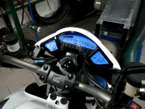 Honda CB1000R dynojet