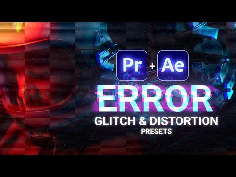ERROR  Free Glitch & Distortion Presets for Premiere Pro  Cinecomnet