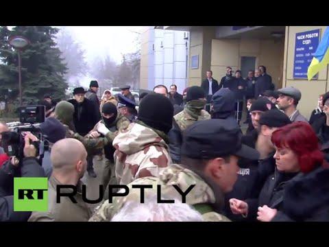 Ukraine: Right Sector brawl halts Odessa massacre trial