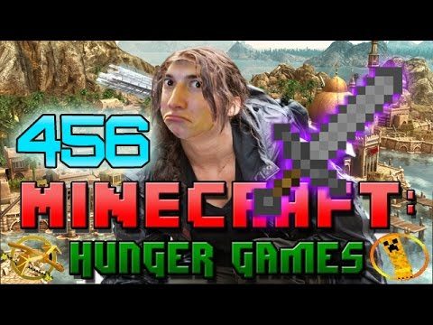 Minecraft: Hunger Games W mitch! Game 456 - All Hype Stone Sword Enchanted! video