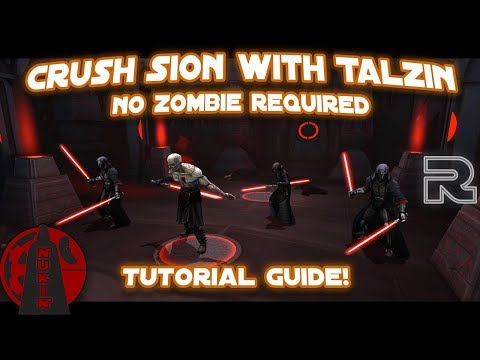 How to Crush Darth Sion with Nightsisters! | Phase 2 Guide | Star Wars: Galaxy of Heroes
