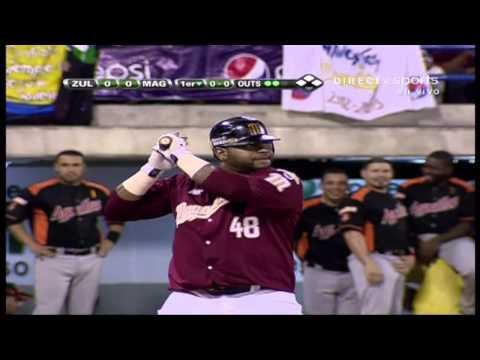 Pablo Sandoval debuta con Magallanes 5/12/ 2012