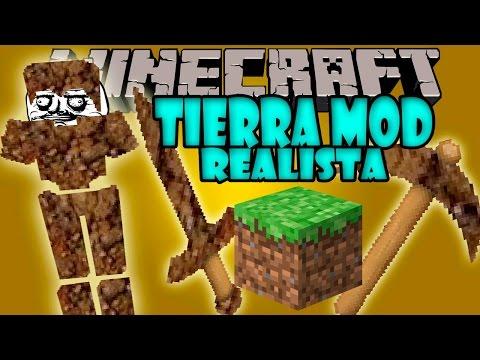 TIERRA MOD V1.2 REALISTA! - Tierra mod actualizacion EN HD!!! - Minecraft mod 1.7.10 Review ESPAÑOL