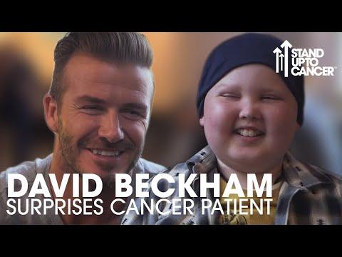 David Beckham Meets Lloyd | Stand Up To Cancer
