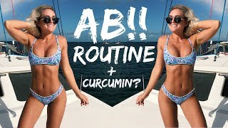 My current AB routine!! What is Curcumin?! + Solgar supplement review