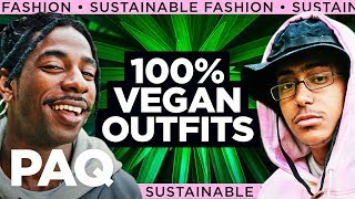Can You Make a 100% Vegan Outfit Look Fire? (Sustainable Fashion!)