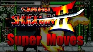 Samurai Showdown 2 All Super Moves